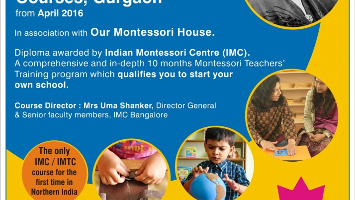 Montessori training courses